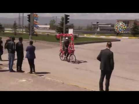 Erdoğan'a Erzurum'da komik karşılama