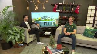 Expressho Show chats with Blitzbokke Rugby Player, Dylan Sage