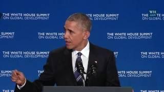 Obama: Now Is Most Peaceful, Prosperous, Progressive Era In History- Full Speech