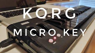 KORG Microkey 37 Review - Should you buy this mini MIDI Keyboard?