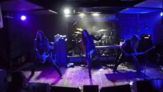 Iron Maiden - The Trooper Cover by Edge of Paradise at Soundcheck Live  Lucky Strike Live