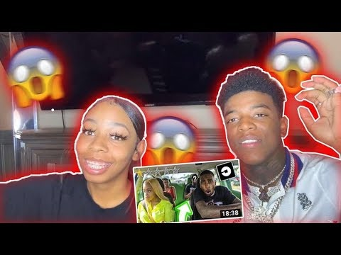 REACTING TO FUNNY MIKE BEING A UBER FOR A RAPPER!