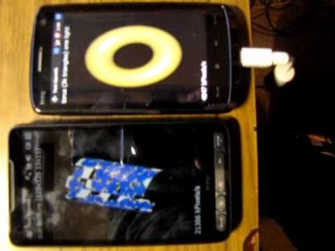 HTC HD2 vs. HTC Touch HD: OpenGLS Test