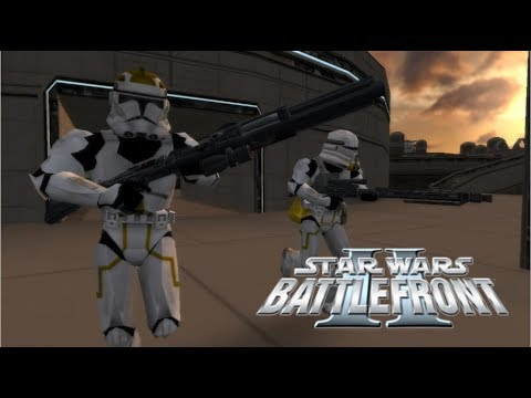 Star Wars Battlefront II Mod Bespin: Platforms Clone Wars w 38th Armored Division (SCM)