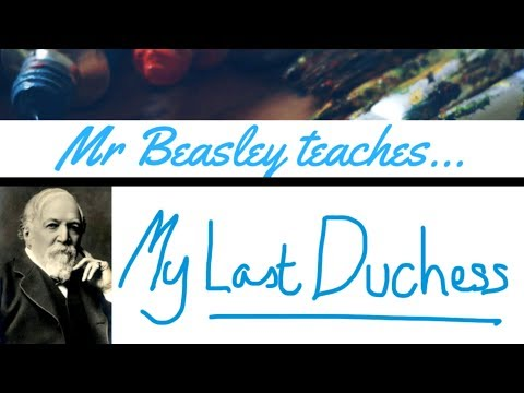 Analysis of My Last Duchess: Robert Browning