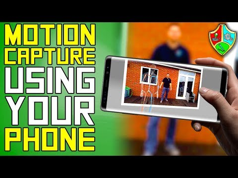 How To MOTION CAPTURE Using Your PHONE   RADiCAL Motion Tutorial