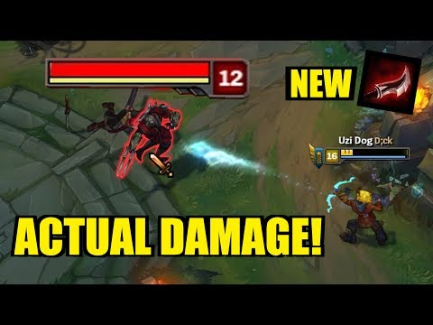 LETHALITY EZREAL!! Actual Damage! ONESHOTS!! [ League of Legends ]