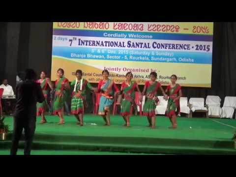 GANG NAI SIRU NAI  || INTERNATIONAL SANTAL CONFERENCE 2015
