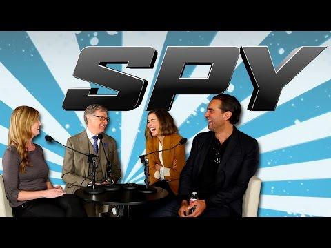 Paul Feig, Rose Byrne, And Bobby Cannavale Talk Spy - The Know