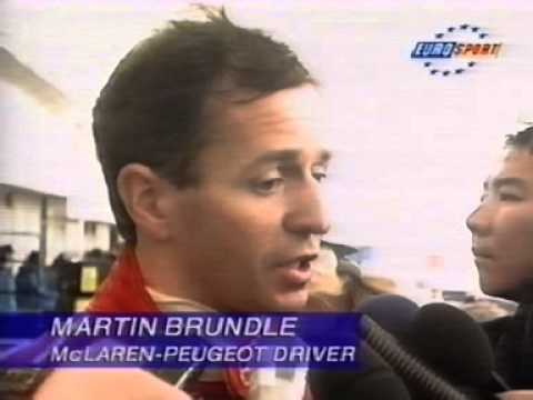 Martin Brundle 1994 Japanese Grand Prix at Suzuka 2