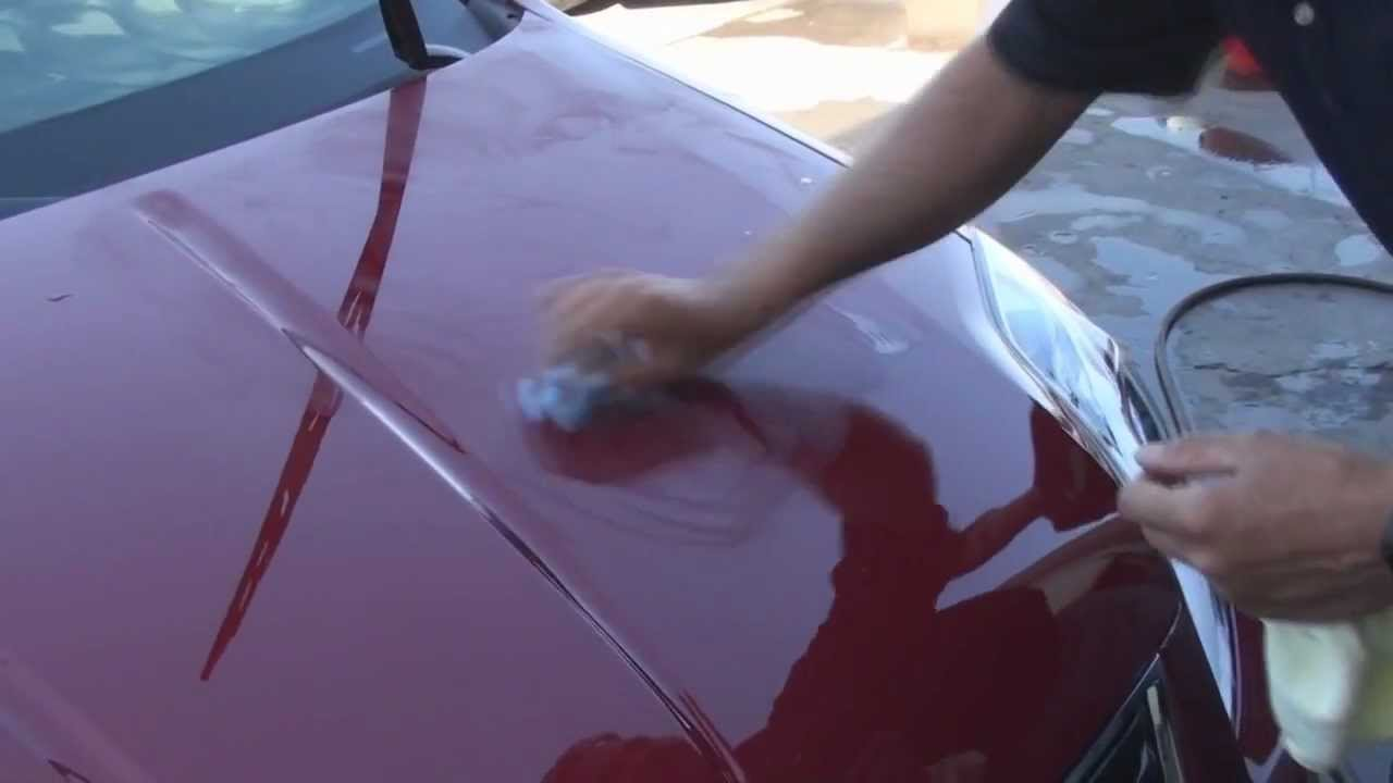 Wurth Nano Window And Paint Sealant Youtube