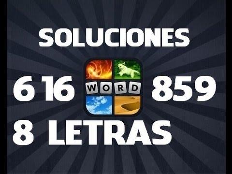 4 Fotos 1 Palabra Todas Las Soluciones De 8 Letras 616 859 Youtube
