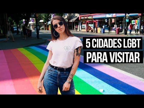 TOP 5 CIDADES LGBT PARA TURISTAR | Cabide Colorido