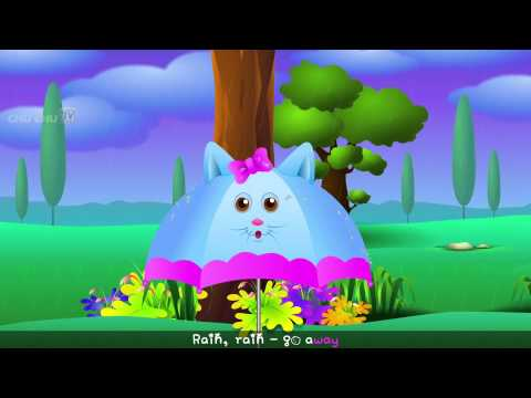 Rain, Rain, Go Away Nursery Rhyme With Lyrics   Cartoon Animation Rhymes & Songs for Children 2