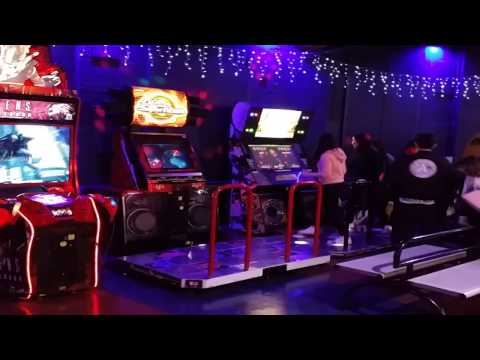 Video Game Arcade Tours - Namco Funscape's Dance Games (London, England)