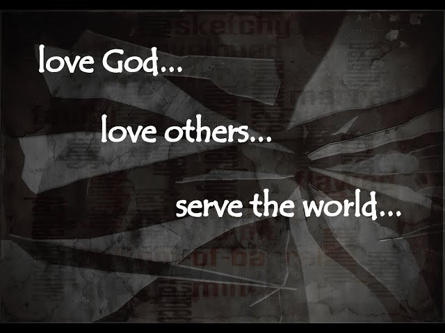 You cant say you Love GOD Unless You Love Others