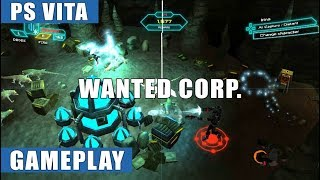 Wanted Corp. PS Vita Gameplay