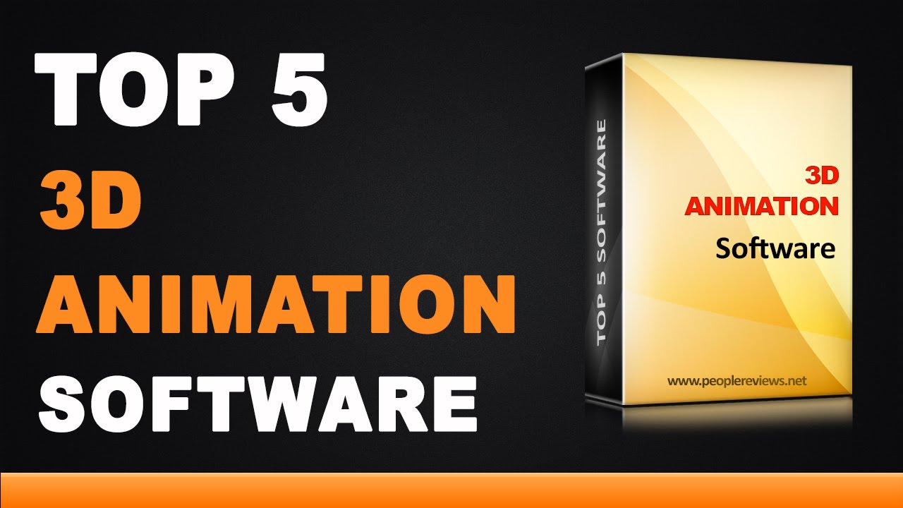 Best 3d Animation Software Top 5 List Youtube