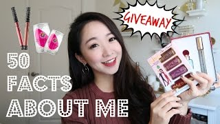50 Facts About Me+My First GIVEAWAY 关于我的50个问题+抽奖