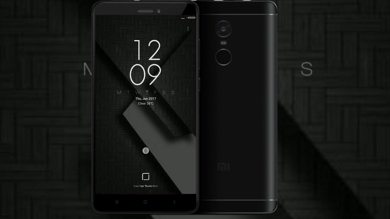 Theme For Xiaomi Redmi Note 4: Best Dark Theme For Redmi Note 4