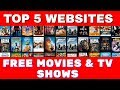 Top 5 Websites for FREE MOVIES & TV SHOWS ! *Fully legal*