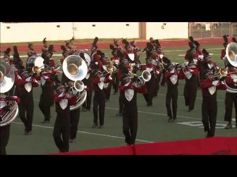 Juarez Lincoln High School Band Pigskin Performance 2012