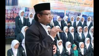 [BELAJAR CEPAT METODE HANIFIDA] : Dr. Hanifuddin Mahadun, M.Ag