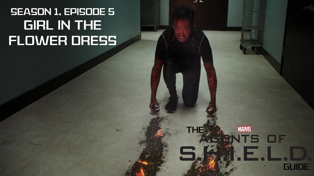 """Download The Agents of SHIELD Guide - 1x05 """"Girl in the Flower Dress"""""""