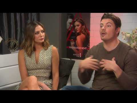 Christine Evangelista and Josh Henderson on Season 2 of