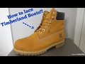 How To Lace Timberland Boots!!!
