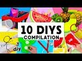 MAKING 10 AMAZING DIY Slimes, Room Decor & Organization COMPILATION!