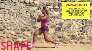 1 Move, 3 Ways: Lunges| Shape