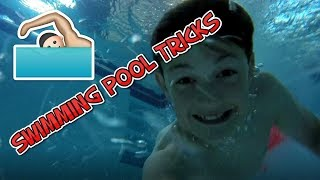 MAD WATER TRICKS AT INDOOR SWIMMING POOL!