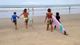 Iman & Intan November 2014 Holiday Bali : Day 5 Surfing in Kuta Part 3