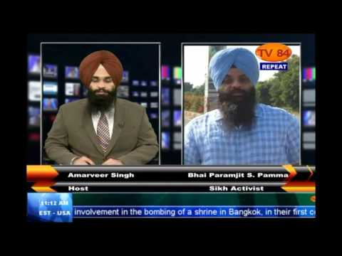 Interview with Paramjit Singh Pamma (Sikh Nationalist - U.K)