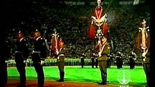 Massed bands on the 1980 Summer Olympics