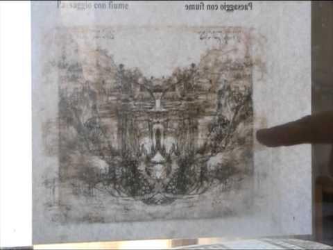 Misteri di Leonardo da Vinci Esperimento su Paesaggio con Fiume del 1473  YouTube