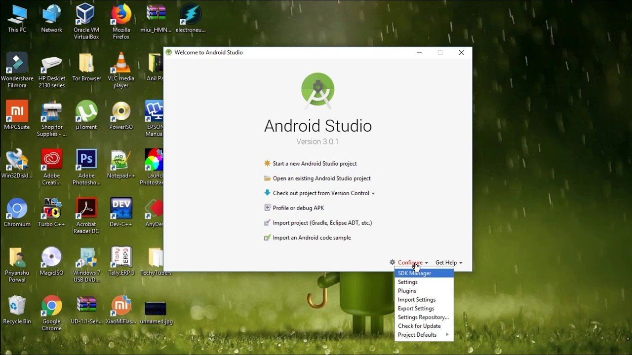 Android Studio for Beginner's    #2 Install Android Studio(Latest Version  3 0 1)    2018   