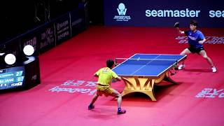 장우진 vs 하리모토 2018 Grand Finals Men's Singles (Jang Woojin vs Harimoto Tomokazu)