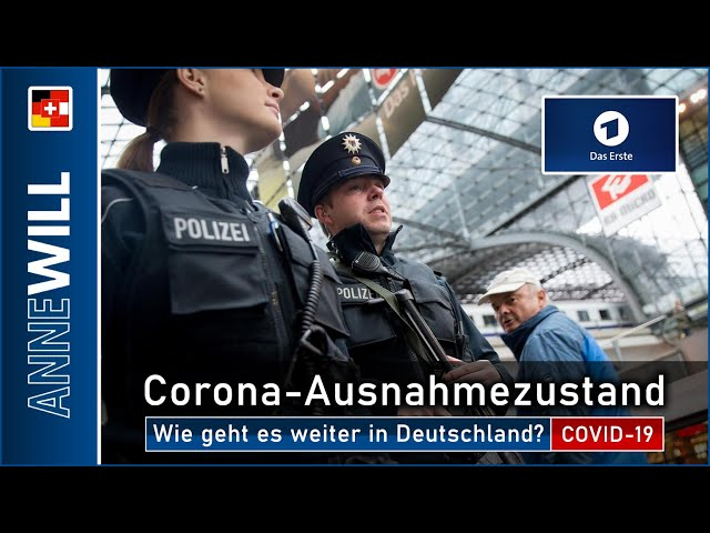 Anne Will - 29.03.2020 - Corona-Ausnahmezustand: Wie geht es weiter in Deutschland? (ARD)