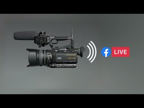 Streaming To Facebook Live With The JVC GY-HM250 Camcorder
