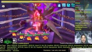 summoners war necro b10 using 4 lamor colleen