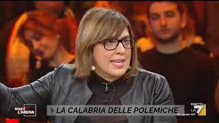 """Gambar cover Massimo Giletti vs Giulia Zampina: """"Io difendo Barbagallo"""", """"Non ci provi, Giletti"""""""