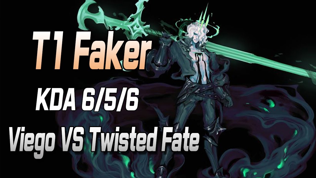 페이커 미드 비에고 VS 트위스티드 페이트 //T1 Faker Viego VS Twisted Fate