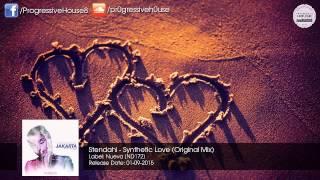 Stendahl - Synthetic Love (Original Mix) [Nueva]