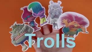Finger Song Trolls for Children and Babies