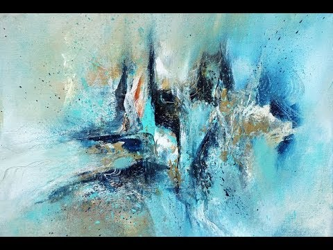 Einfach Malen/Für Anfänger/Abstract/Easy Painting/For Beginners/V172 / Oase