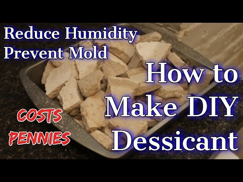How to Make Homemade Desiccant Out of Sheetrock