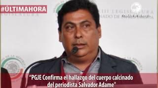 Procurador de Michoacán confirma el hallazgo de los restos calcinados de Salvador Adame