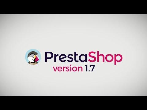 Lancez votre site Ecommerce avec PrestaShop 1.7